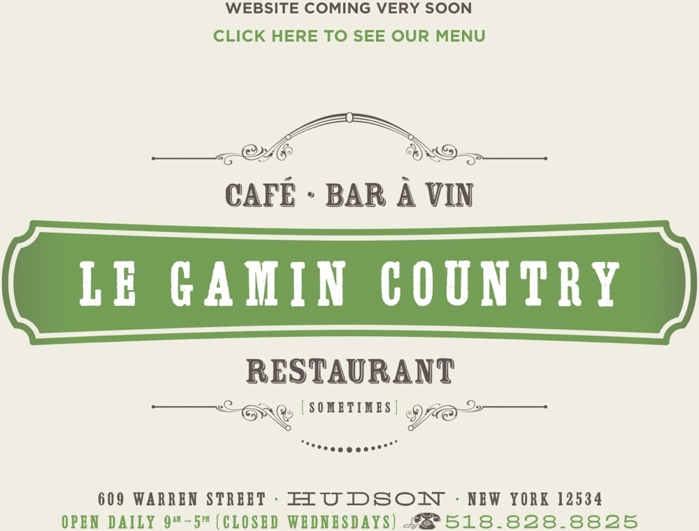 Le Gamin Country in Hudson, NY